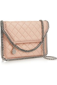 Stella McCartney | Falabella quilted faux leather shoulder bag | NET-A-PORTER.COM