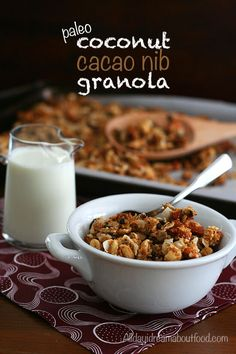 Paleo Coconut Cacao Nib Granola Recipe