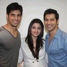 The awesome threesome! - Sidharth Malhotra, Alia Bhatt and Varun Dhawan