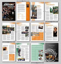 newsletter print design - Google Search | Design inspiration ...