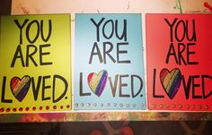 LOVE is LOVE is LOVE Original Paintings by twiggyoriginals Custom order yours today twiggy@twiggyorig... $50+ . **©2016 Twiggy™ Originals. All images in the Twiggy Originals Group are copyright 2016. Twiggy is a registered trademark. Respect your fellow artists - no reproduction is allowed.** Registered Trademark, Twiggy, Respect, Original Paintings, Artists, Group, Love, The Originals, Etsy