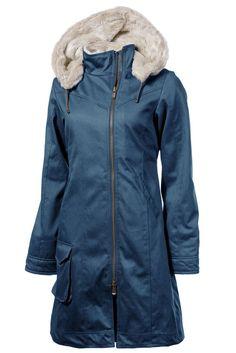 Ladies' Long HoodLamb Coat