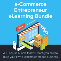 e-Commerce Entrepreneur eLearning Bundle Amazon A To Z, Amazon Fba, Start Up Business, Online Business, Ecommerce Store, Learning Courses, E Commerce Business, Competitor Analysis, Online Shopping Stores