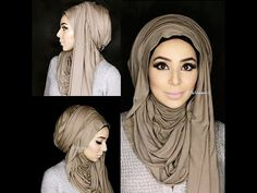 NO PINS arab inspired hijaab tutorial ft. the Hooded J |by fatihasworld ...