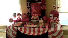Breast Cancer Awareness dessert table