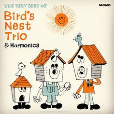 Drawing Wonder • 本日のイラストレーション!! 鳥の巣トリオと高周波というグループのベスト盤。...