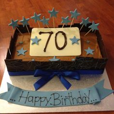 70th Birthday Cake!