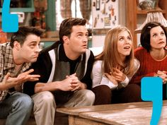 Which Friends Character Are You Based On The Quotes You Choose? I got Monica!!