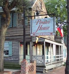 The Pirates' House reservations in Savannah, GA | day trip?