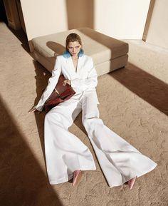 Harper's Bazaar March 2017 Hana Jirickova by Camilla Akrans - Fashion Editorials