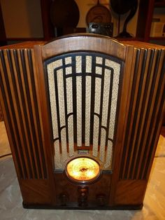 Zenith Model 835 1934 The Holy Grail of All Art Deco Tombstone Radio Collectio | eBay