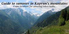 Look no further for four epic walks/hikes and awe inspiring scenery- only minutes from the Austrian alpine village of Kaprun Alpine Village, Walks, Austria, Scenery, Hiking, Europe, Adventure, Mountains, Amazing
