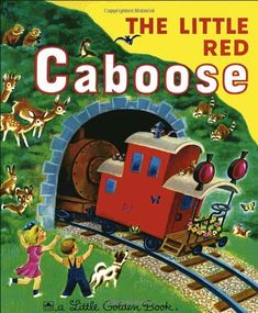 The Little Red Caboose (Little Golden Book) by Marian Potter http://smile.amazon.com/dp/0307021521/ref=cm_sw_r_pi_dp_sy8bub0Y8068Y