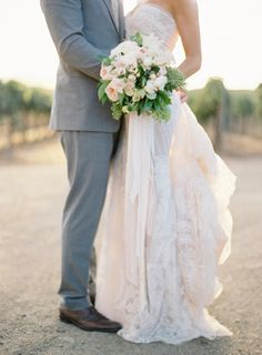 Everything about this photo makes us swoon: http://www.stylemepretty.com/2014/03/12/al-fresco-wedding-in-santa-ynez/ | Photography: Jose Villa - http://www.josevilla.com/