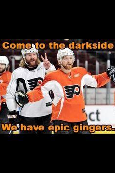 Philadelphia Flyers!! Hartnell and Giroux.