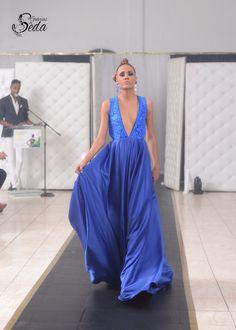 Sexy Vestido Azul