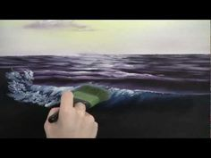 Painting Waves at Dawn - YouTube