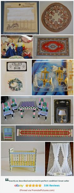 Dollhouse Miniatures 1:12 Accessories Jams Miniature Kitchen 4 Bottles Jams P VG