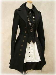 #Steampunk #Jacket