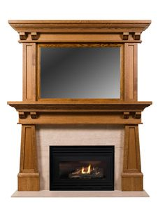Arts and Crafts Mantels | Craftsman Fireplace Mantel Designs by Hazelmere Fireplace Mantels | Custom Wood Design | Home Improvement Specialist | Fireplace Mantel Gallery | Building and Construction Links