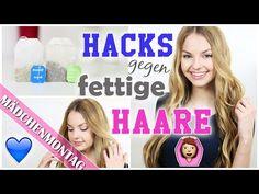 10 HACKS / Tipps gegen FETTIGE HAARE + coole VERLOSUNG | MädchenMontagMai | xLaeta - YouTube