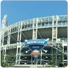 Home to the #ClevelandIndians, #ProgressiveField. #awesome #cleveland #globetrotter #hotincleveland #ohio #travel #traveller #travels #usa