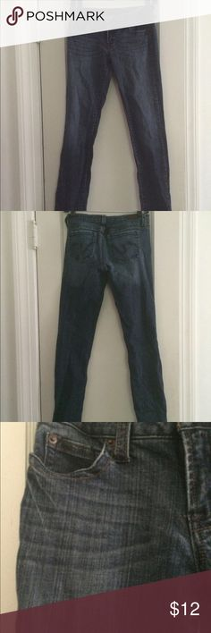 Dark denim 5 LONG Nice to wear with boots! Spandex & cotton refuge Jeans