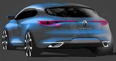 Gashetka | Transportation Design | 2015 | Renault Megane | Design Development...