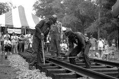 US Slave: African American Railroad Workers: Gandy Dancers Gandy Dancer, Golden Spike, Play The Video, History Photos, Black White Photos, African American History, Black Star, Us Images, Black People