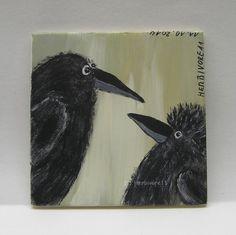 DER NEUSTE RABENIGELLOOK von Herbivore11 Rabe Raben Igel Frisur Raven Inchie süß