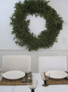 The Table/ the wreath
