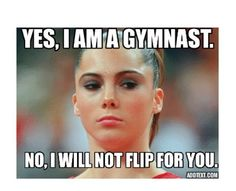 Funny 16 And Olympic Champion Gymnastics Problems, Gymnastics Workout, Olympic Gymnastics, Rhythmic Gymnastics, Gymnastics Training, Olympic Games, Funny Gymnastics Quotes, Inspirational Gymnastics Quotes, Gymnastics Pictures