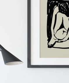 Ink Painting on paper woman painting Woman Painting, Ink Painting, Black And White Wall Art, Printable Art, Vintage Fashion, Vintage Style, Minimalism, Graphic Design, Paper