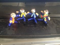 Beaded Cub Scout Blue and Gold ideas