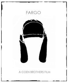 Fargo - JUST watched for the first time! You are in the right place about North Dakota wallpaper Here we offer you the most beautiful pictures about the williston North Dakota you are looking Best Movie Posters, Minimal Movie Posters, Minimal Poster, Cinema Posters, Movie Poster Art, Brothers Movie, Coen Brothers, Fargo 1996, Movies