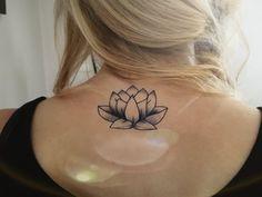 lotus temporary tattoo #lotus #lotustattoo #temporarytattoo #strepik #faketattoo