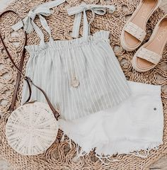 Sunday funday Mabel top + Gigi shorts for today's Cute Comfy Outfits, Cute Summer Outfits, Outfits For Teens, Stylish Outfits, Spring Outfits, Mode Outfits, Fashion Outfits, Womens Fashion, Fashion Hacks