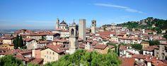 Bergamo führt ein stilles Dasein im Schatten der prominenten Nachbarin Mailand. #bergamo #italy