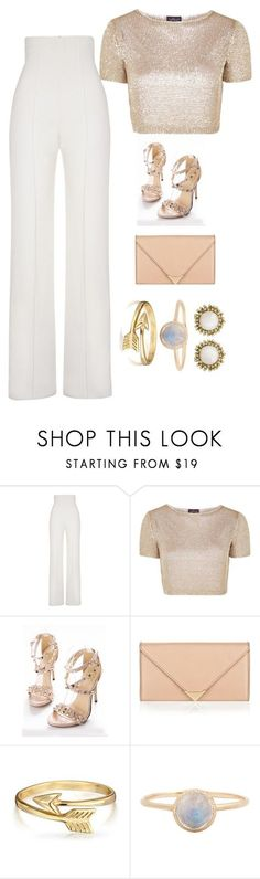 """""""Untitled #373"""" by princessophia ❤ liked on Polyvore featuring Yves Saint Laurent, Topshop, Alexander Wang, Bling Jewelry and Kendra Scott"""