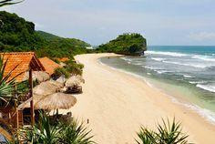 Indrayanti Beach: Gunung Kidul, Yogyakarta, Indonesia.