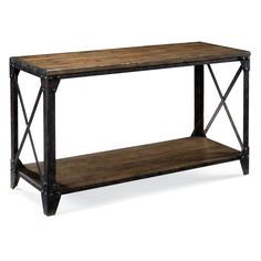 Rectangular Console And Sofa Table