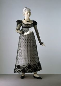 Evening Dress 1818 The Victoria & Albert Museum
