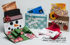 Holiday Gift Card / Treat holders