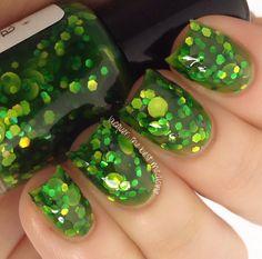 Lucky Day handmade custom nail polish by GlimmerbyErica on Etsy, $9.25