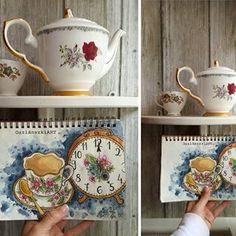 Oszlánszki Marcsi (@oszlanszkiart) • Instagram-fényképek és -videók English Breakfast Tea, Tea Cups, Marvel, Mugs, Tableware, Diy, Instagram, Dinnerware, Bricolage