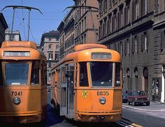 trams a roma