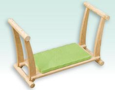Take some of the strain out of those garden chores with Ben Russell\u0027s stylish and ingenious kneeler/stool combination.  sc 1 st  Pinterest & USA-Made Cedar Garden Kneeler Seat. ~Big B can make this for me to ... islam-shia.org