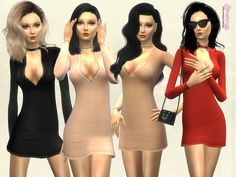 Inspired from Ready to Wear trendy fast fashion brands, created this dress for Sims 4! Real ready to wear and the trendy things are always the simple ones. People like fancy things but when they...