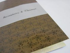 Wedding invitation with pattern purchased on patterndesigns.com Wedding Invitations, Stationery, Patterns, Block Prints, Paper Mill, Stationery Set, Wedding Invitation Cards, Office Supplies, Pattern