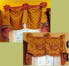 Brenthaven Valance by Pate-Meadows Designs has an excellent designer gallery of window treatments in many styles.